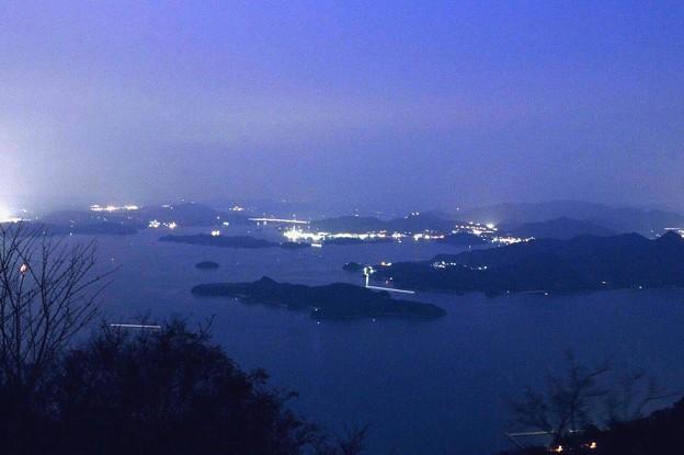 三原市筆影山 海霧2