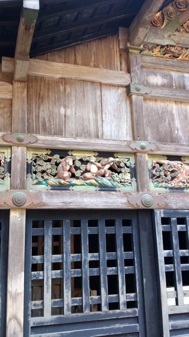 日光東照宮 三猿 - Three wise monkeys
