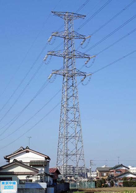 東京中線2098号鉄塔