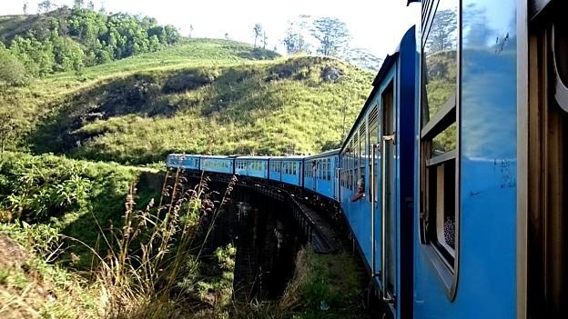スリランカ鉄道です