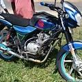 Photos: BAJAJと言うインド製のバイク、ツクツクも作ってます
