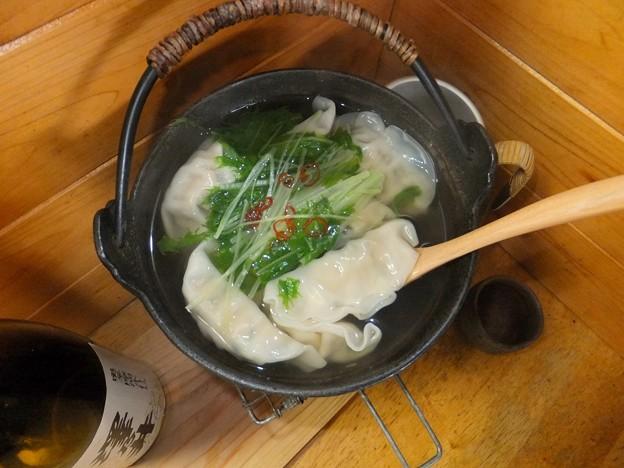 燗銅壺で小鍋たて