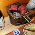 澤乃井と牛タン