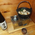 Photos: 澤乃井と牡蠣鍋