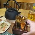 鉄瓶のホットウイスキー