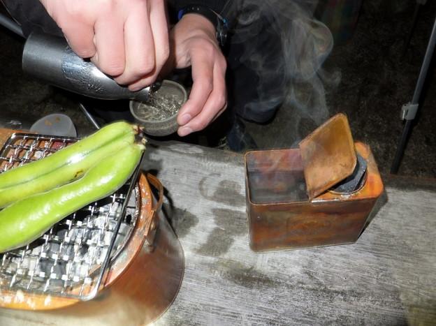 自作燗銅壺