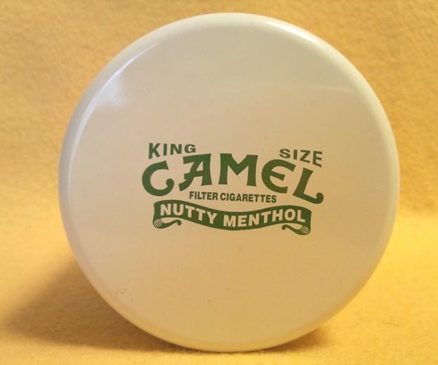 現品のみ 非売品 キャメル ナッティー メンソール 缶 灰皿 KING SIZE CAMEL NUTTY MENTHOL