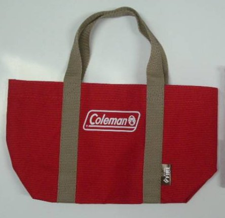 Coleman コールマン ミニ トート バッグ 缶コーヒー Fire 非売品