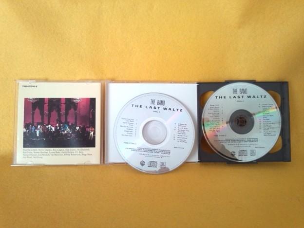 ラスト・ワルツ ザ・バンド ライブ CD 2枚組 表