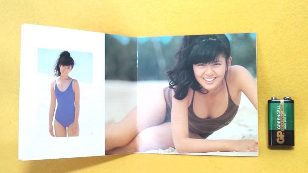 南野陽子 ジェラート CD 歌詞カード(ブックレット)中の写真