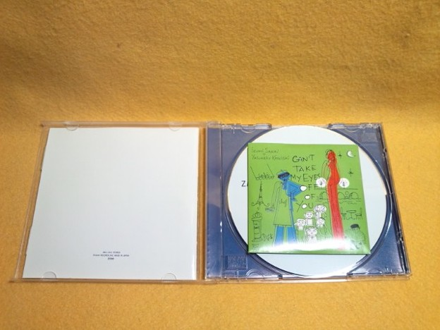 CAN'T TAKE MY EYES OFF OF YOU ZARD CD