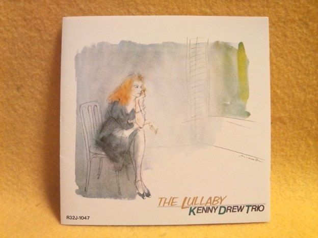 THE LULLABY KENNY DREW TRIO CD R32J-1047