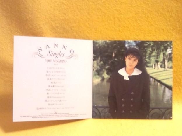 NANNO-Singles- CD みなみのようこ アイドル 写真部分