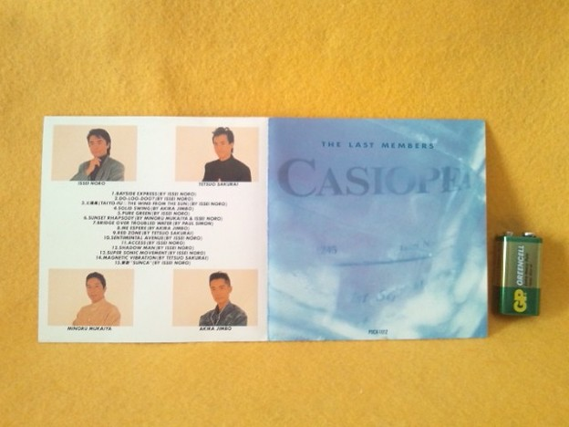 CASIOPEA  THE LAST MEMBERS カシオペア CD