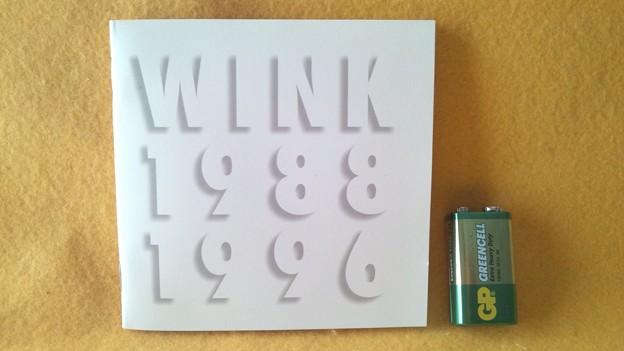 ウィンク WINK MEMORIES 1988-1966 歌詞カード 表