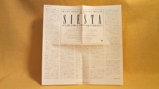 SIESTA CD MILES DAVIS MARCUS MILER 32XD-908