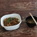 富幕山で朝食