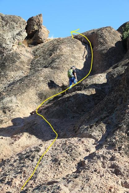 Pinnacles NPのトレイル (3)