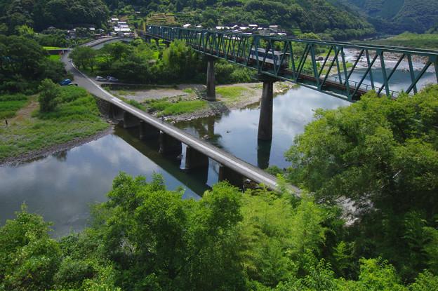 鉄橋と沈下橋