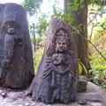 写真: 木彫りの地蔵1