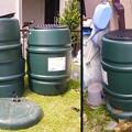 Photos: 雨水タンク買い替え