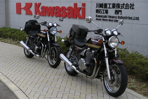 kawasaki車 里帰り#2