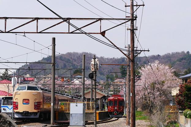 Photos: ホリデー快速 富士山 と富士登山電車