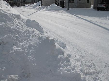 路面圧雪状態