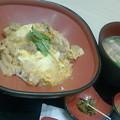 Photos: 久しぶりに、博多華味鳥の親子丼と鶏そばセットじゃ( ≧ω≦)