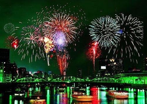Sumida River Hanabi Fireworks