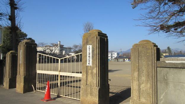 中屋敷/古屋敷(上田市立清明小学校)