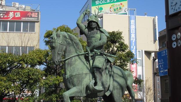 真田幸村公像(上田市)