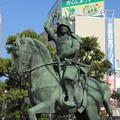 Photos: 真田幸村公像(上田市)