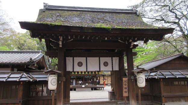河合神社(糺の森。左京区)