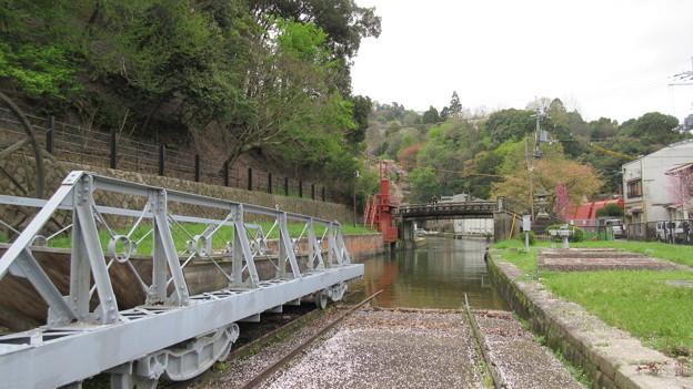 琵琶湖疏水(京都市左京区)