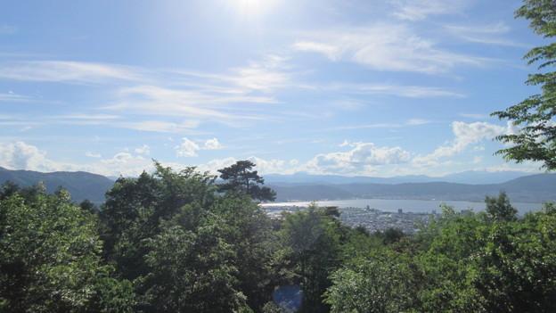 Photos: 桑原城(諏訪市)
