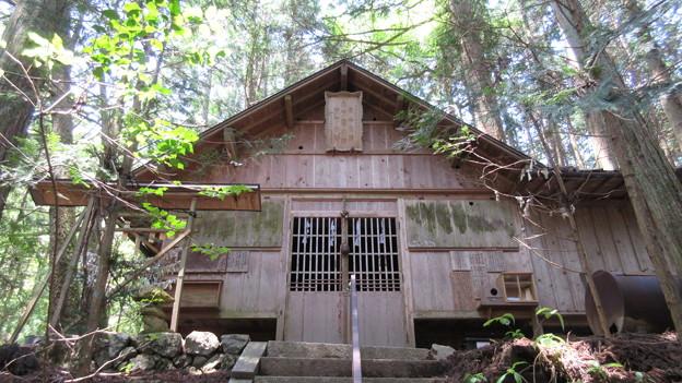 大平神社(頭権現。阿智村)