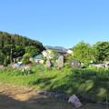 首塚・胴塚(塩尻市柿沢)