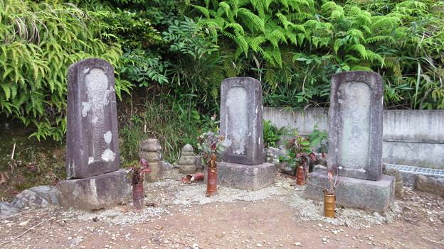 西明寺(豊川市)北条時頼・大江定基・水野駿河守墓
