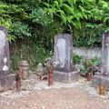 Photos: 西明寺(豊川市)北条時頼・大江定基・水野駿河守墓