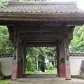 清瀧寺(浜松市天竜区)山門