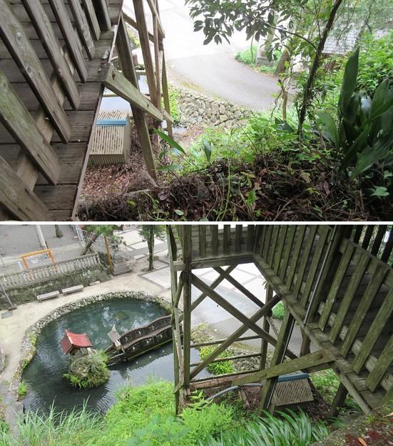 清瀧寺(浜松市天竜区)井楼櫓(水汲み櫓)