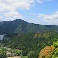 Photos: 犬居城(浜松市天竜区)物見台より南南西
