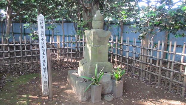 宗源院(浜松市)小笠原源太夫基長室 千代子墓