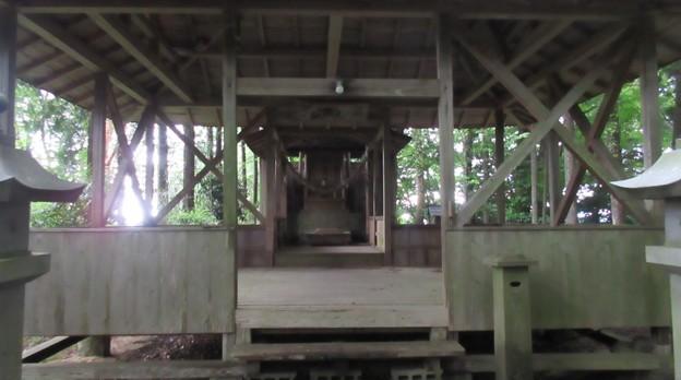 巌邑城(恵那市岩村町)龍神社
