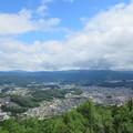 松倉城(高山市)本丸より北
