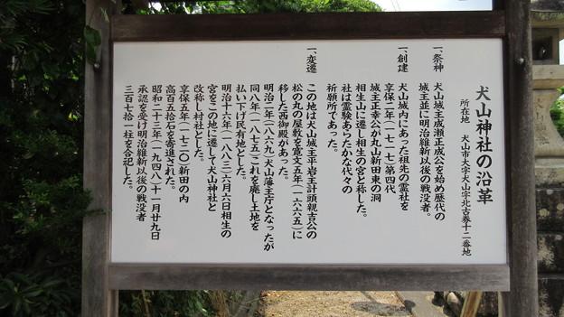 犬山城(犬山市)犬山神社