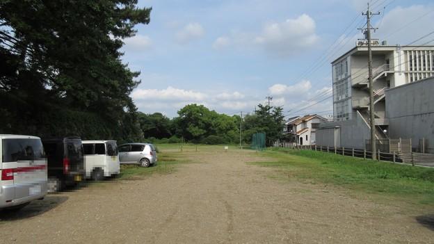 加納城(岐阜市営 加納公園)南面東 水堀