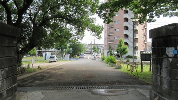 加納城(岐阜市営 加納公園)臆病門・先 大藪曲輪