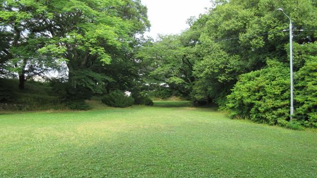 加納城(岐阜市営 加納公園)本丸東